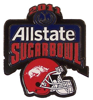 2011 All State Sugar Bowl Pin - Arkansas
