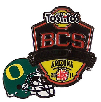 2011 BCS Tostitos Bowl - Oregon Pin