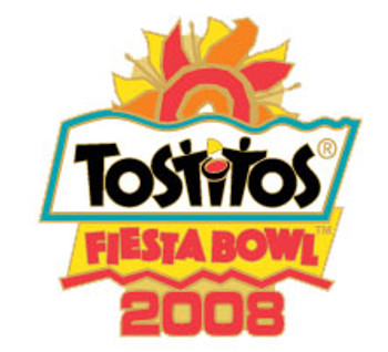 2008 Tostitos Fiesta Bowl Logo Pin