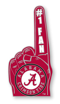 Alabama #1 Fan Pin