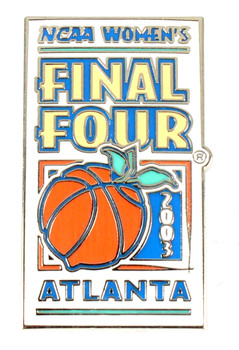 Womens 2003 Final Four Logo Pin