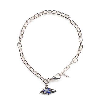 Baltimore Ravens Logo Bracelet