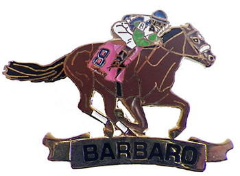 Barbaro Lapel Pin - Limited Edition 2006