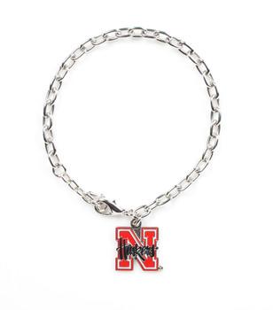 Nebraska Logo Bracelet