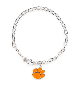 Clemson Logo Bracelet