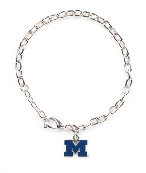 Michigan Logo Bracelet