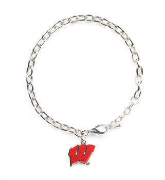 Wisconsin Logo Bracelet