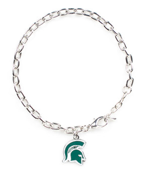 Michigan State Logo Bracelet