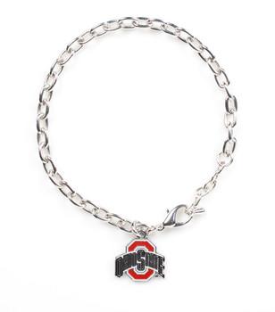 Ohio State Logo Bracelet