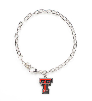 Texas Tech Logo Bracelet
