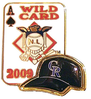 Colorado Rockies 2009 Wild Card Pin