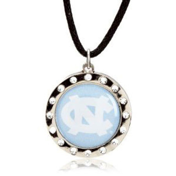 North Carolina Crystal Circle Necklace