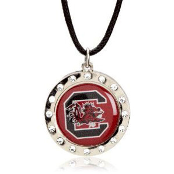 South Carolina Crystal Circle Necklace