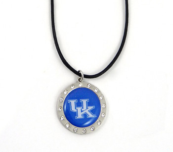 Kentucky Crystal Circle Necklace (Nm)