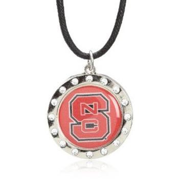 North Carolina State Crystal Circle Necklace