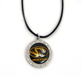 Missouri Crystal Circle Necklace
