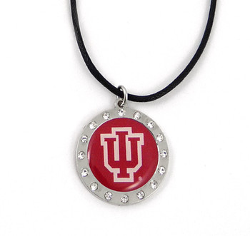 Indiana Crystal Circle Necklace (Nm)