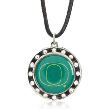Oregon Crystal Circle Necklace