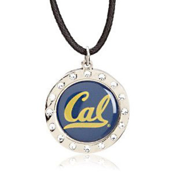 Cal Berkeley Crystal Circle Necklace
