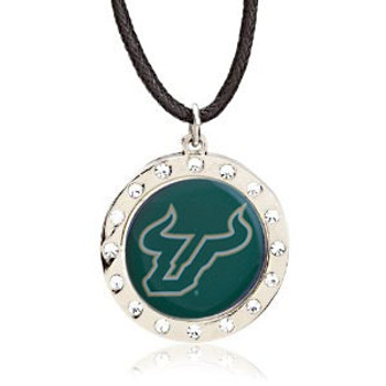South Florida Crystal Circle Necklace