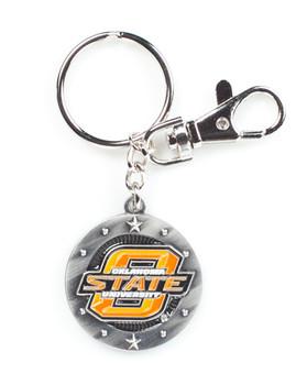 Oklahoma State Impact Key Ring