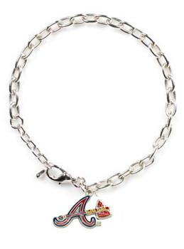 Atlanta Braves Logo Bracelet