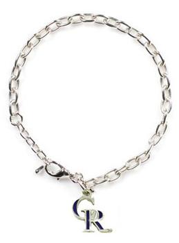 Colorodo  Rockies Logo Bracelet
