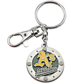 Oakland A'S Impact Key Ring