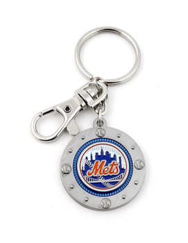 New York Mets Impact Key Ring
