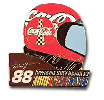 Dale Jarrett #88 Helmet Pin