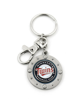 Minnesota Twins Impact Key Ring
