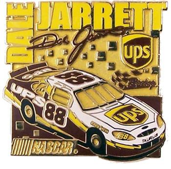 Dale Jarrett #88 UPS Car Pin