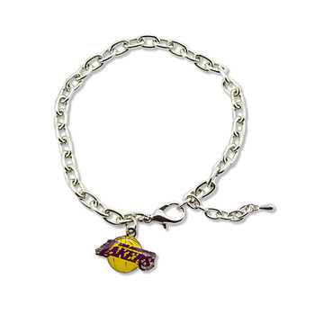 Los Angeles Lakers Logo Bracelet