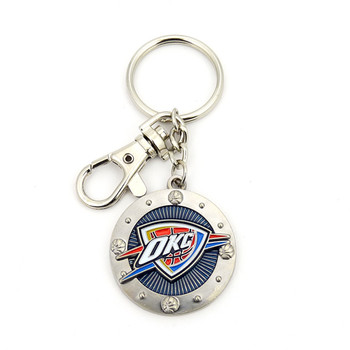 Oklahoma City Thunder Impact Key Ring