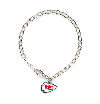 Kansas City Chiefs Logo Bracelet