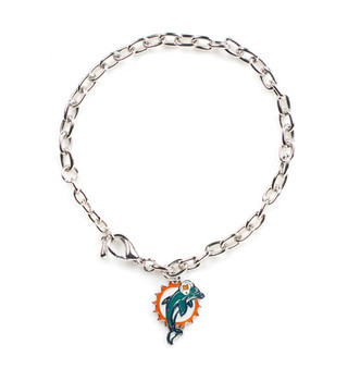 Miami Dolphins Logo Bracelet