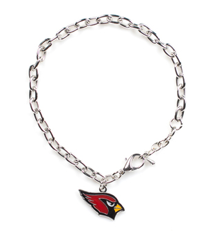 Arizona Cardinals Logo Bracelet