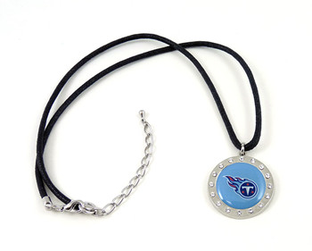 Tennessee Titans Crystal Circle Necklace