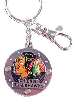 Chicago  Blackhawks Impact Key Ring (Nm)