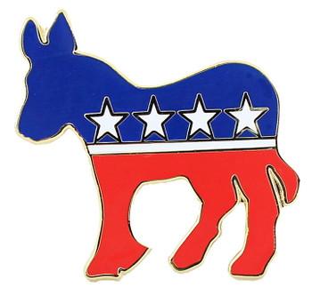Democrat Party Lapel Pin