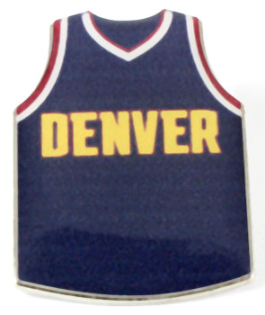 Denver Nuggets Jersey Pin