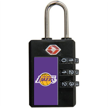 Los Angeles Lakers TSA Lock