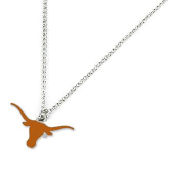 Texas Longhorn Logo Pendant