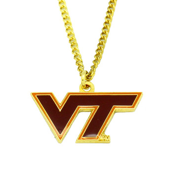 Virginia Tech Logo Pendant