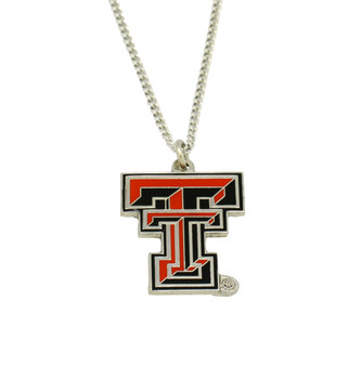 Texas Tech Logo Pendant