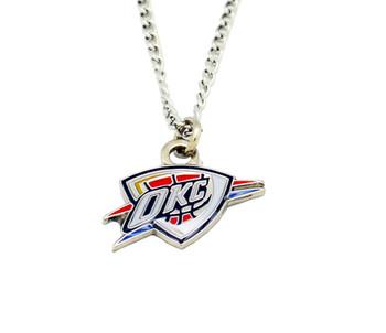 Oklahoma City Thunder Logo Pendant