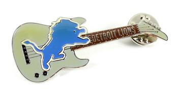 Detroit Lions Guitar Pin