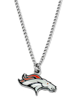 Denver Broncos Logo Necklace