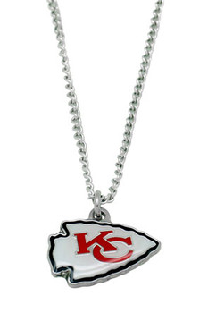 Kansas City Chiefs Logo Necklace