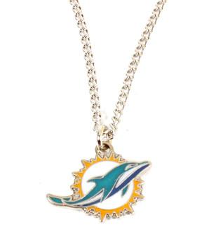 Miami Dolphins Logo Pendant